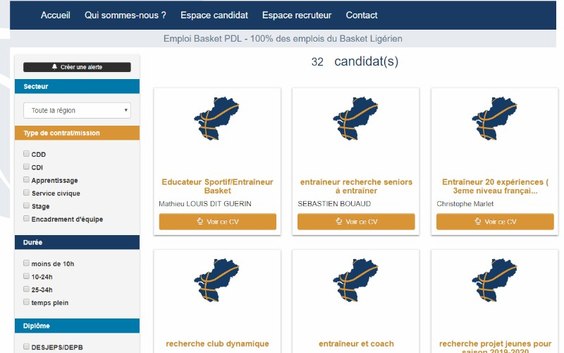 cr u00e9er un site d u0026 39 offres d u0026 39 emploi sur mesure